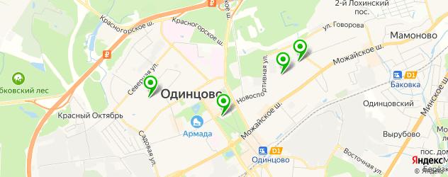 лицеи на карте Одинцово