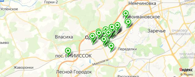 студии маникюра на карте Одинцово