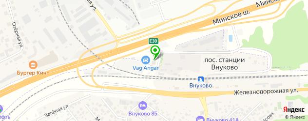 авторазборки на карте Одинцово