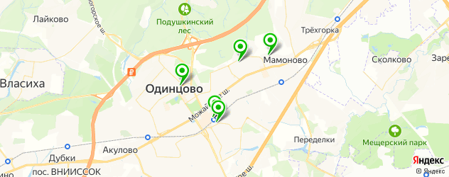 кадровые агентства на карте Одинцово