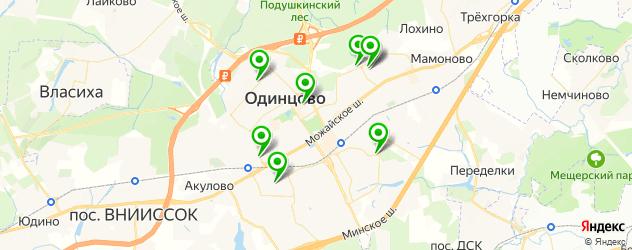 автостоянки на карте Одинцово