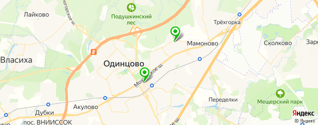 свадебные агентства на карте Одинцово