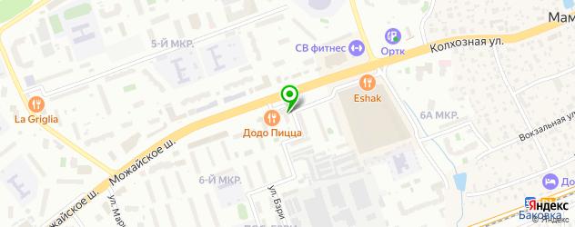караоке-клубы на карте Баковки