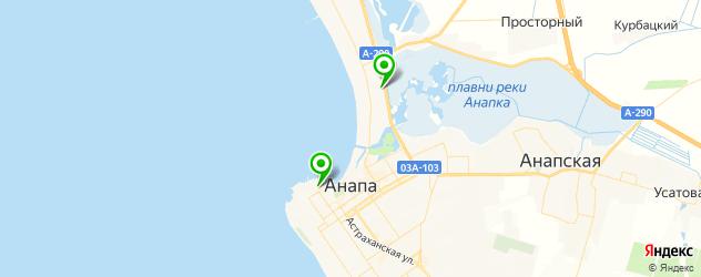 СПА отель на карте Анапы
