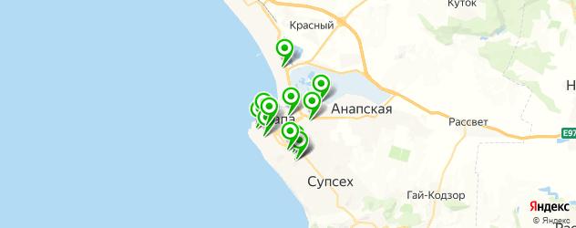 лаборатории анализов на карте Анапы