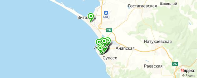 салоны красоты на карте Анапы