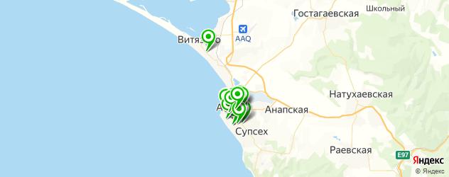 Красота на карте Анапы