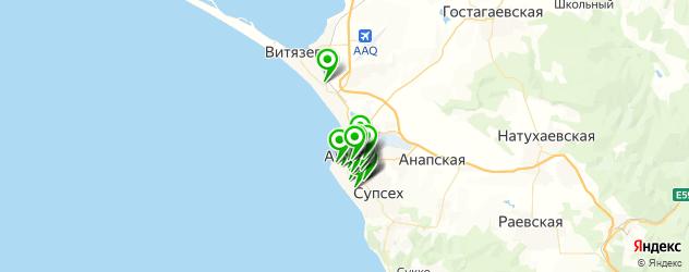 пиццерии на карте Анапы