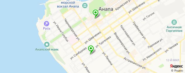 кадровые агентства на карте Анапы