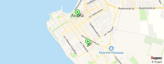 антикафе на карте Анапы