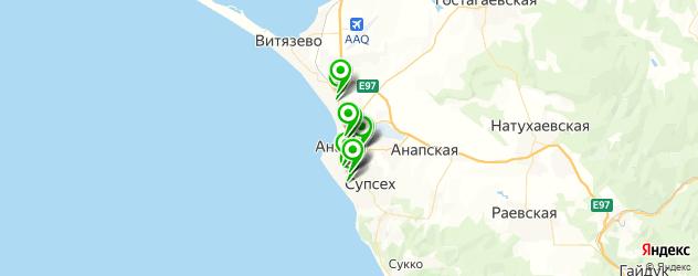 АЗСЫ на карте Анапы