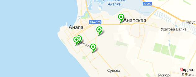 мотосалоны на карте Анапы