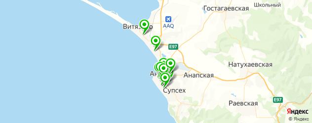 пирсинг ушей на карте Анапы