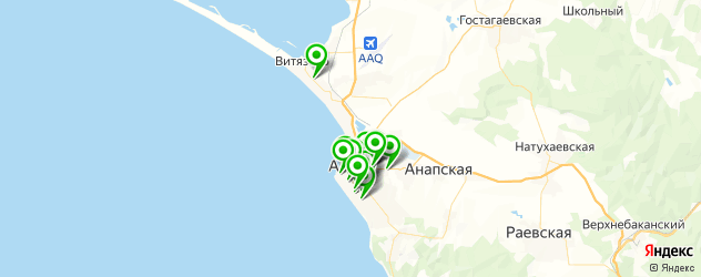 массаж лица на карте Анапы