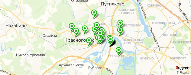 мебельные мастерские на карте Красногорска