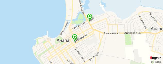 бары с живой музыкой на карте Анапы