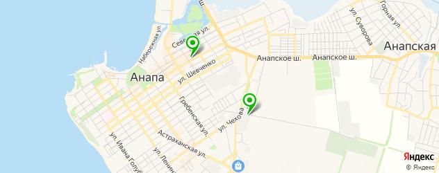 авторазборки на карте Анапы