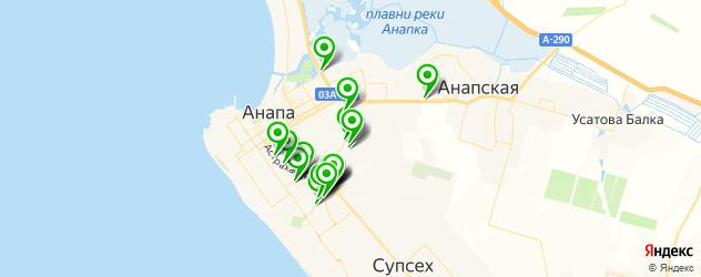 магазины автоаксессуаров на карте Анапы