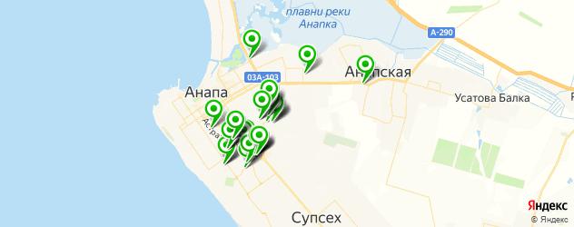 магазины запчастей на карте Анапы