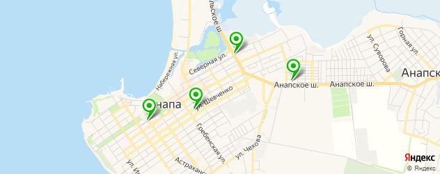 бары с танцполом на карте Анапы