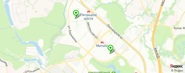 картинные галереи на карте Красногорска