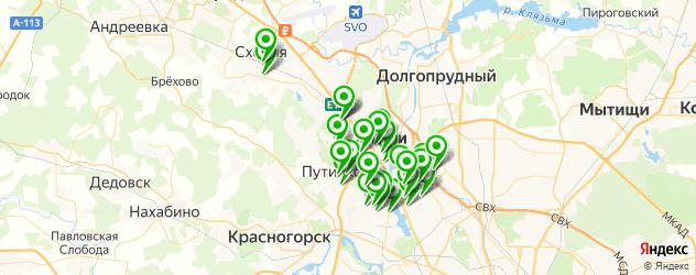 изготовления ключей на карте Химок