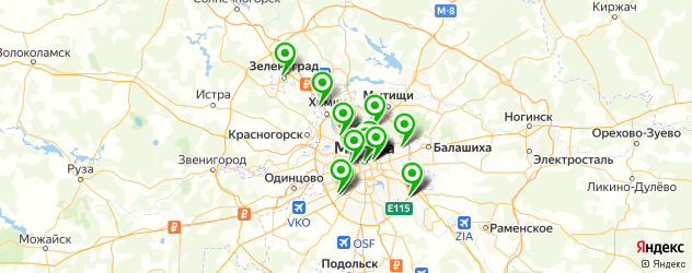 где купить парфюмерию на карте Москвы