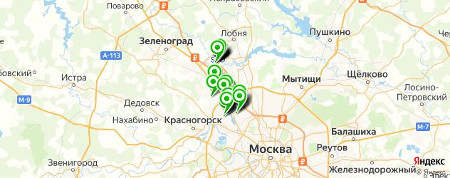 Еда на карте Химок