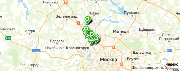 юбилей на карте Химок
