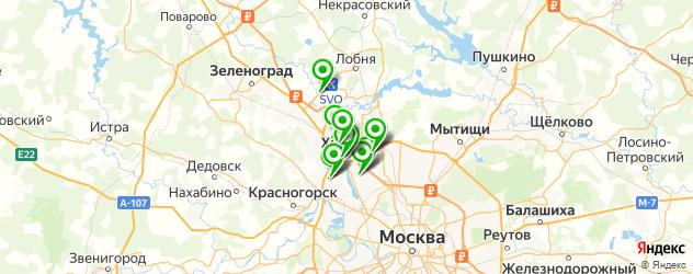 НИИ на карте Химок