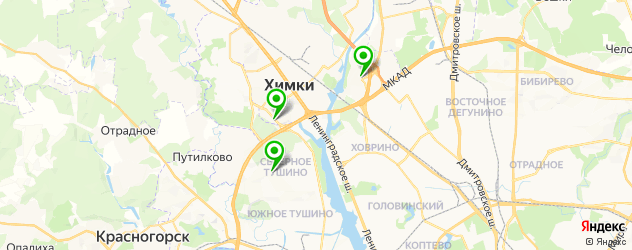 тату салон на карте Химок