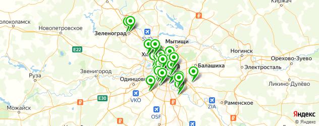 бесплатная консультация стоматолога на карте Москвы