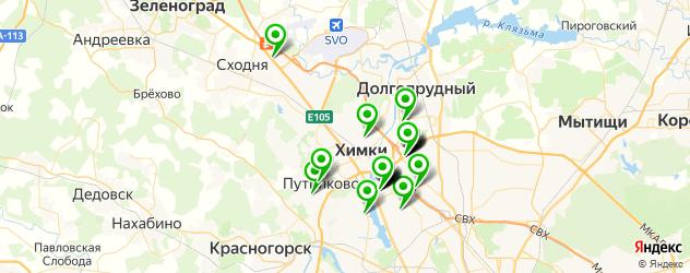 мотосалоны на карте Химок