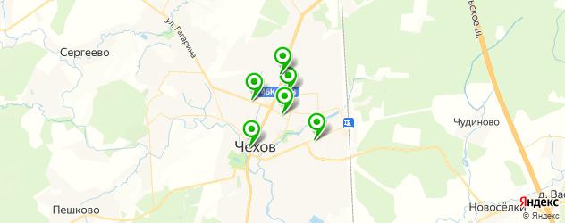 мастерские на карте Чехова