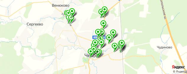 аптеки на карте Чехова