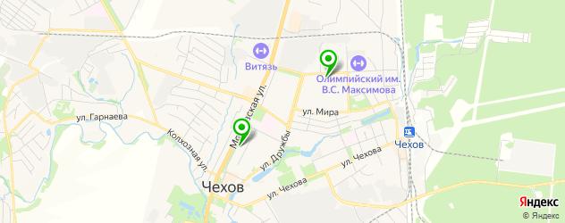 сервисные центры Самсунг на карте Чехова