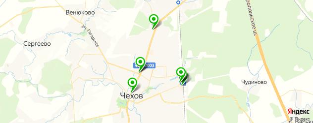 кондитерские на карте Чехова