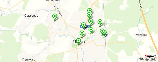 юбилей на карте Чехова