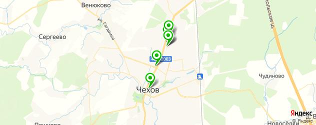 доставка на карте Чехова