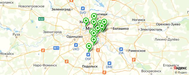 ремонт детских электромобилей на карте Москвы