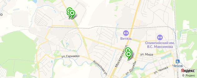 больницы на карте Чехова