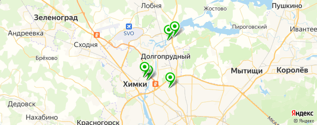 караоке на карте Долгопрудного