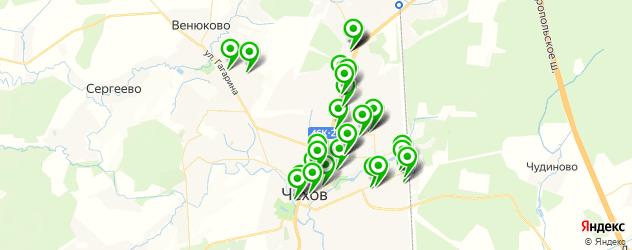 Бытовые услуги на карте Чехова