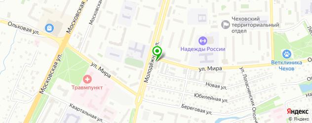 меховые ателье на карте Чехова