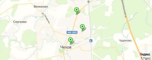 детские клубы на карте Чехова