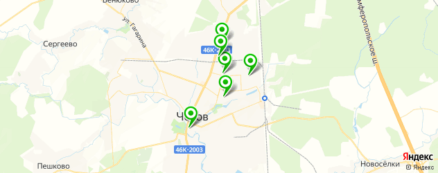 постные меню в ресторанах на карте Чехова