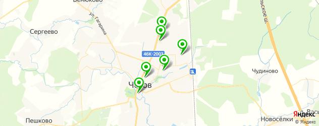 рестораны европейской кухни на карте Чехова