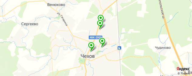 рестораны с живой музыкой на карте Чехова