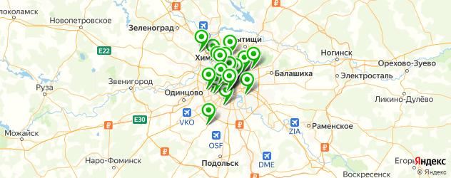 пилинг лица на карте Москвы