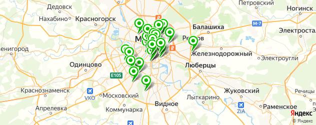 исправление татуировок на карте Москвы